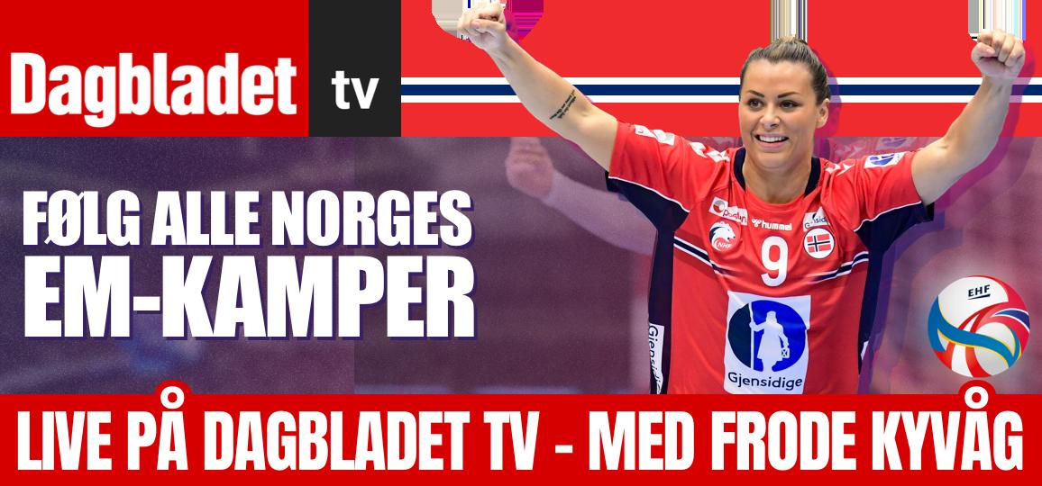 Følg alle Norges EM-kamper!